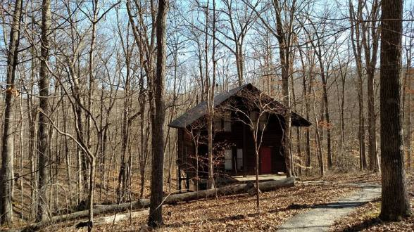 brown county cabin