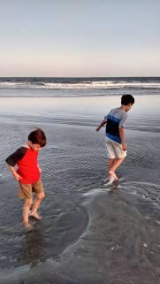 Boys On Beach