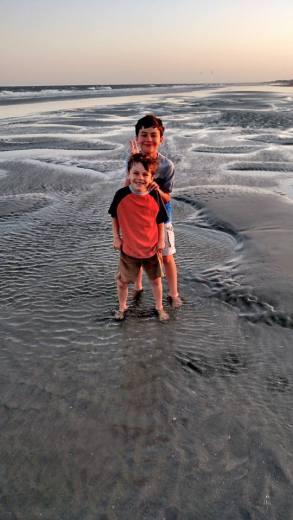 Boys On Beach2